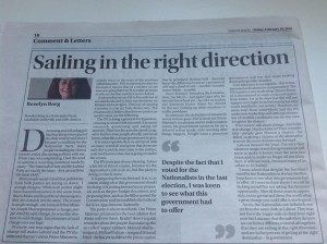 Times - sailing in the right direction