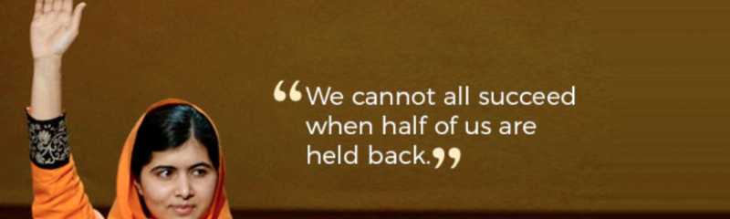 We cannot all succeed if half of us are held back…